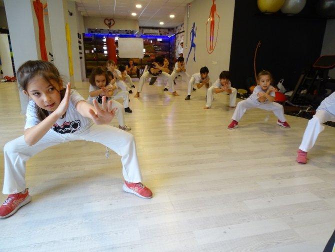Kahramanmaraş'ta capoeira ilgi görüyor