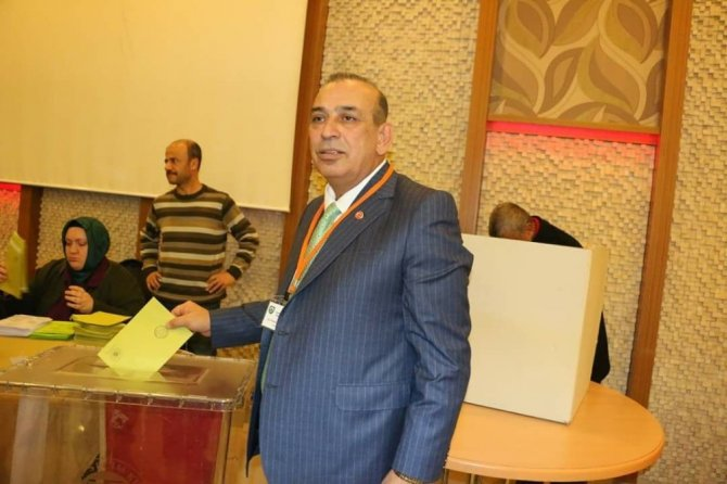 Başkan Karamercan yeniden Konya Lokantacılar Odası Başkanı seçildi