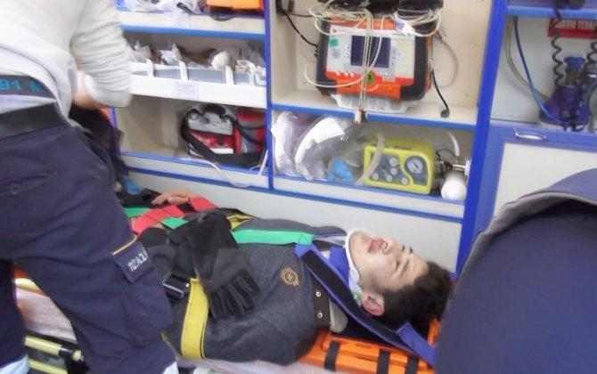Okul yolunda kaza: 1 ölü, 1 yaralı