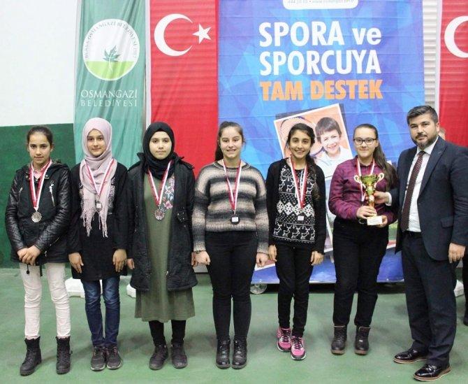 Osmangazi'de satranç heyecanı sürüyor