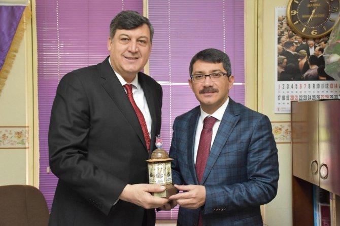 Başkan Çelik'ten oda başkanlarına tebrik ziyareti