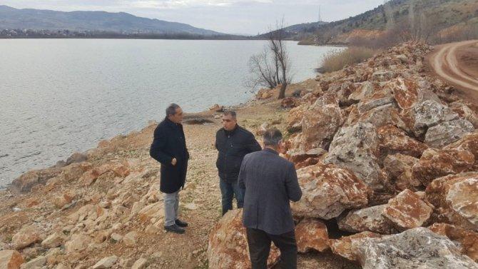Gölbaşı Gölleri çevre düzenlemesi çalışmaları devam ediyor