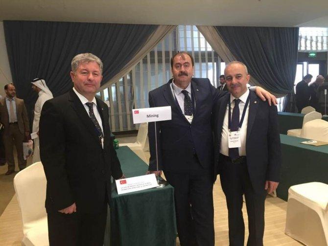 Dinar Ticaret Odası Başkanı Uyan, Türkiye-Katar İş Forumu'na katıldı