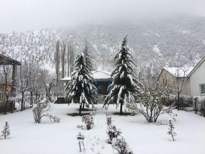 Beytüşşebap ve Uludere kar altında kaldı