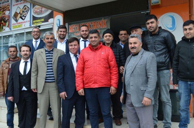 Didim Esnaf Odası Başkan Adayı Erul'dan esnaflara ziyaret