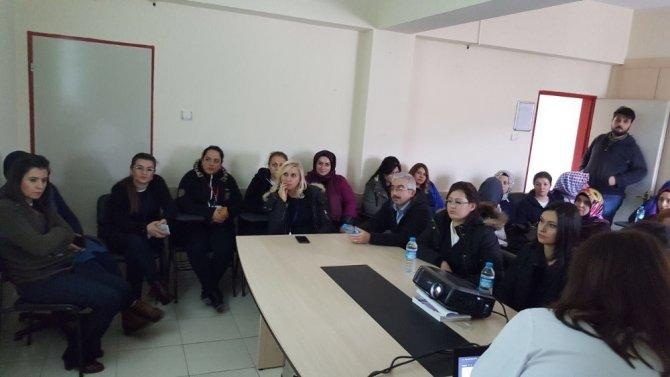 Veri hazırlama personeline eğitim verildi