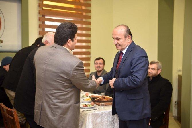 Taşköprü Belediye Başkanı Arslan, din görevlileriyle bir araya geldi