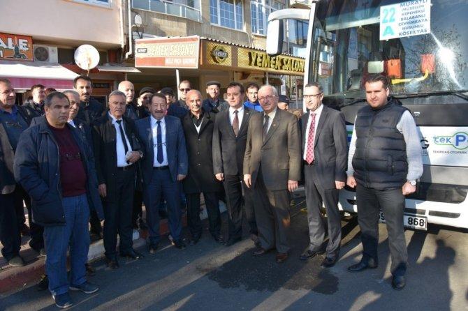Tekirdağ Büyükşehir Belediyesinden Ulaşım Hizmeti