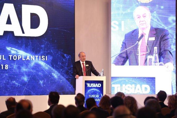 """TÜSİAD Başkanı Bilecik: """"Göstermelik demokrasi diye bir şey yoktur"""""""
