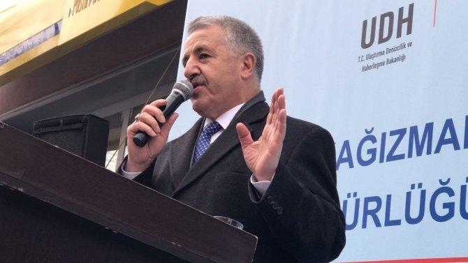 Bakan Arslan, Kağızman PTT Şubesinin açılışını yaptı