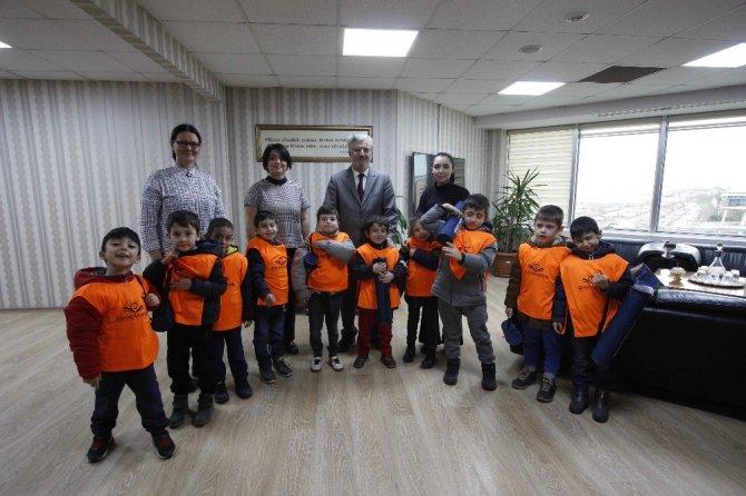 Minik Öğrenciler Büyükşehir'i ziyaret etti