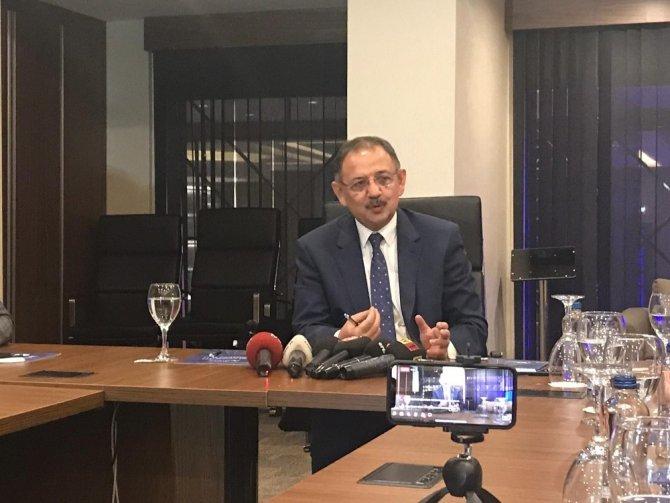 """Bakan Özhaseki: """"Belediyelerde bir çağ atlatma zamanımız geldi"""""""