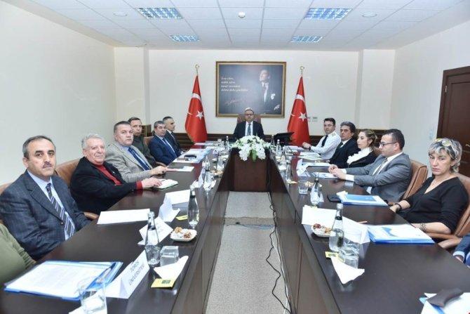 Bağımlılıkla Mücadele Koordinasyon Kurulu Vali Su başkanlığında toplandı