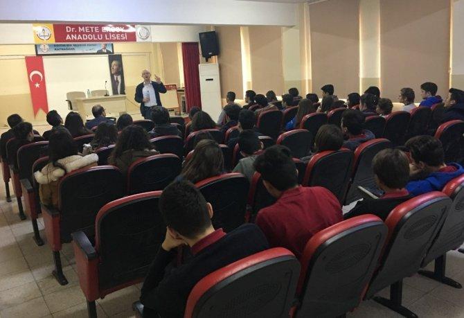 Milas'ta öğrencilere temel dil bilgisi semineri