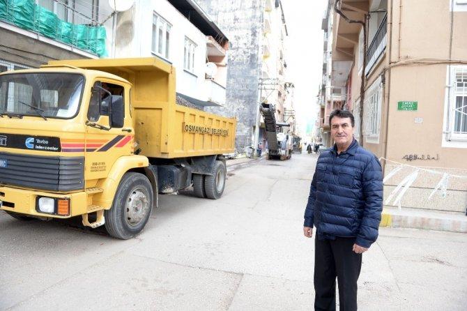 """Dündar: """"Osmangazi'de bozuk yol kalmayacak"""""""