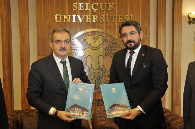 Selçuk ile TÜMSİAD Konya Şubesi arasında yüksek lisans protokolü