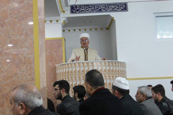 Siirt'te Hacı Kadri Marangoz Camisi hizmete girdi