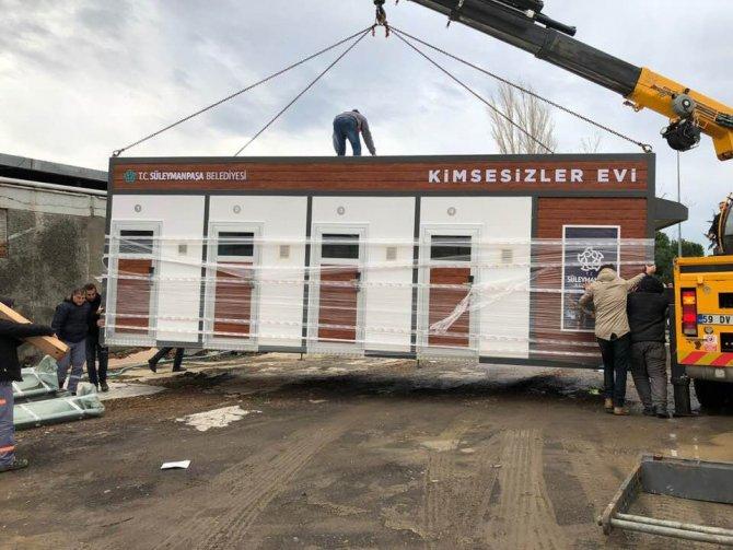 Süleymanpaşa Belediyesi Kimsesizler Evi faaliyete geçiyor