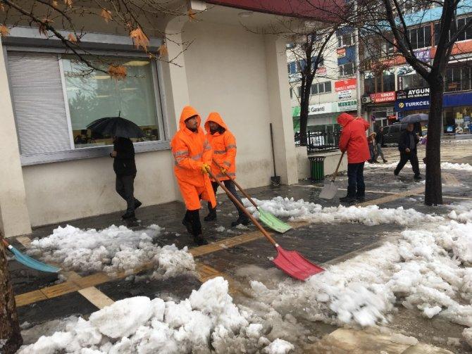 Tunceli'de kar nedeniyle 241 köye ulaşım sağlanamıyor