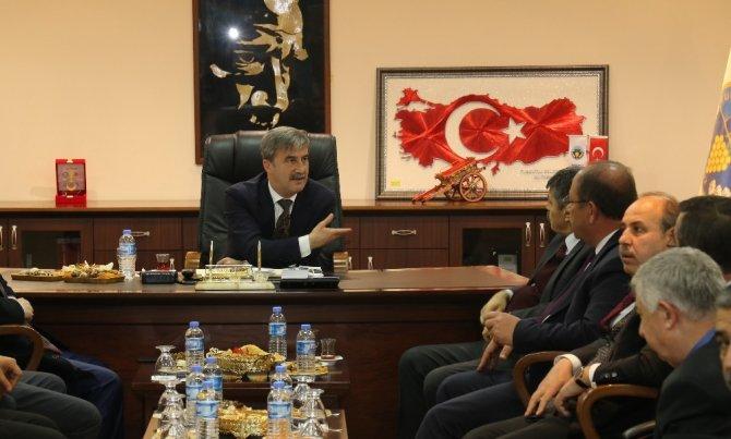 Başkan Şirin MİS Yönetim Kurulunu ağırladı