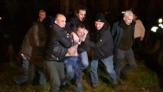 Yakalaması bulunan şahıs Düzce Polisi tarafından kıskıvrak yakalandı