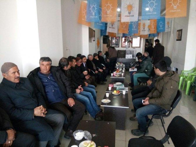 AK Parti Çaldıran İlçe Başkanlığına Çınarağaç atandı
