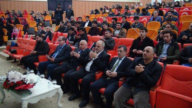 Batman Üniversitesi'nde 28 Şubat ve Kudüs konuşuldu