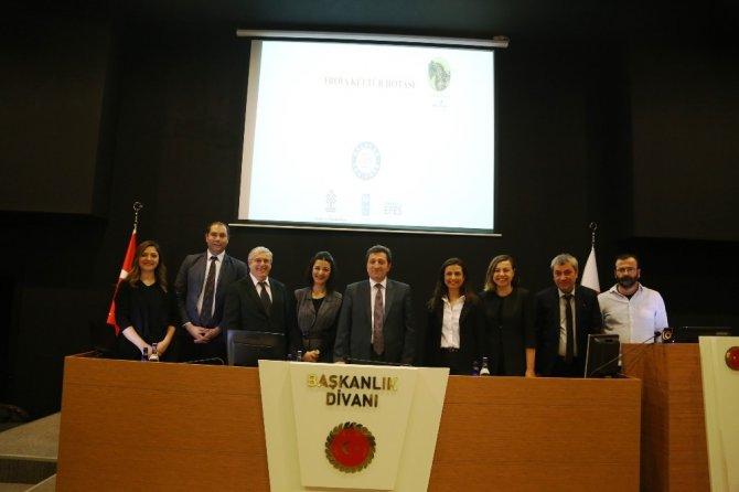 'Troia Kültür Rotası Projesi' yerel yönetimlere tanıtıldı