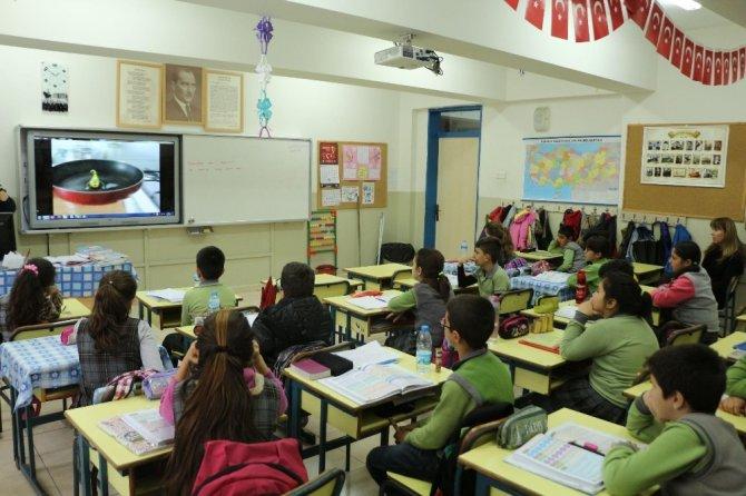 Kuşadası Belediyesi'nden çocuklara atık yağ eğitimi