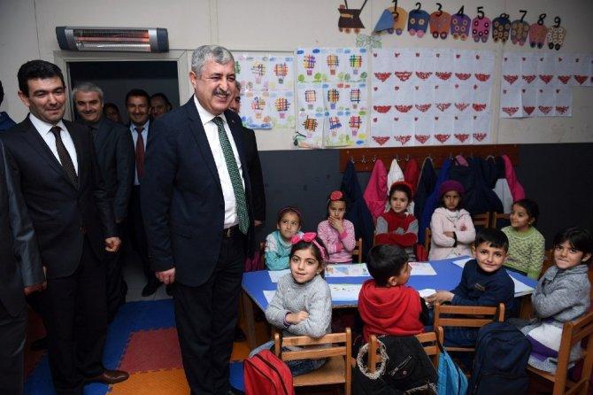 Başkan Polat Suriyelilerle bir araya geldi