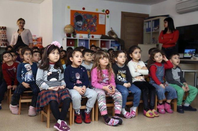 Miniklere çevre koruma eğitimi