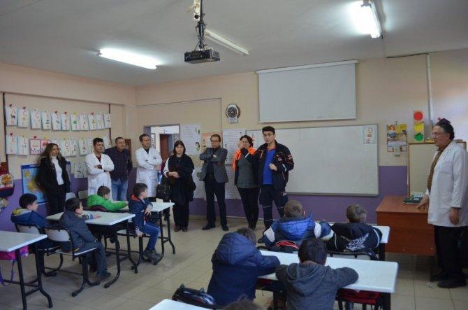 Deprem Haftası Etkinlikleri okul eğitimleriyle başladı