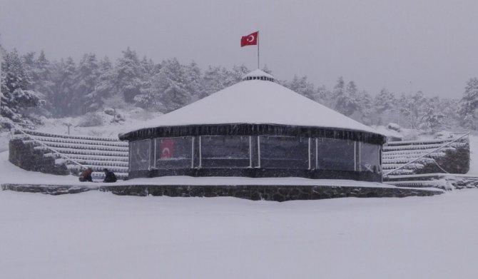 Görecik yaylasından kar manzaraları