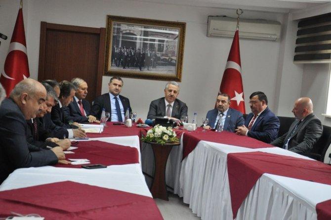 Ulaştırma Denizcilik ve Haberleşme Bakanı Arslan Artvin'de