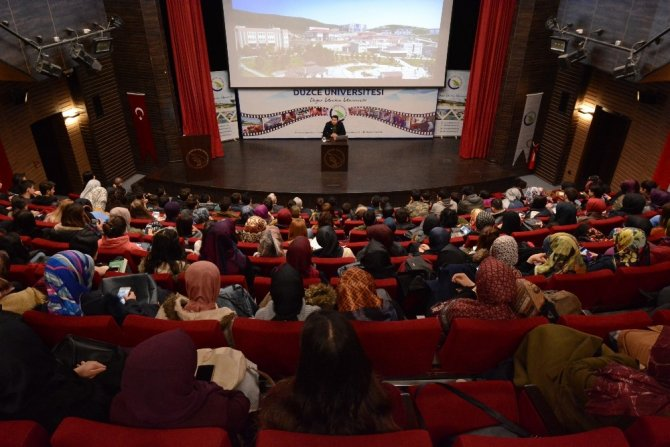 """Düzce Üniversitesi'nde """"Yeniçeriler ve Bektaşilik"""" anlatıldı"""