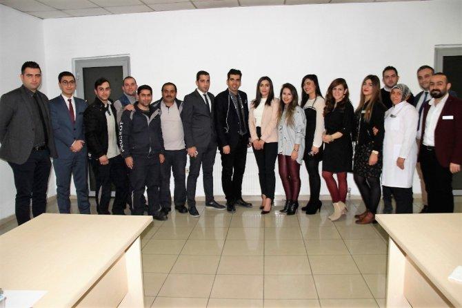 Elazığ'da kiriz yönetimi, motivasyon, stres ve sağlıklı beslenme semineri