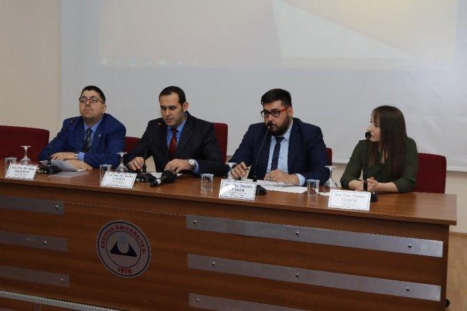 Yerelden Küresele Türk Mutfağı ERÜ'de Ele Alındı