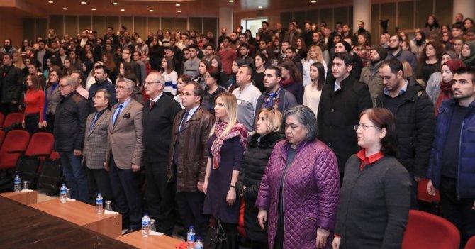 Prof. Dr. Ceylan Trakya Üniversitesinde konferansa katıldı