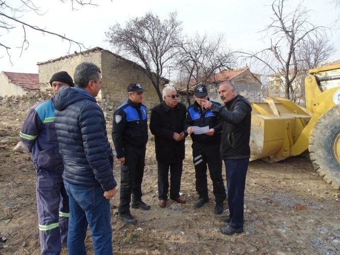 Polisin metruk binalara yönelik çalışması
