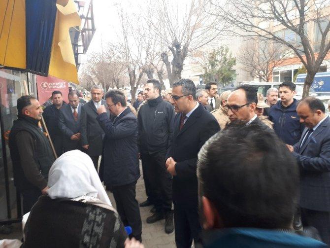 Iğdır Valisi Enver Ünlü, Tuzluca'da