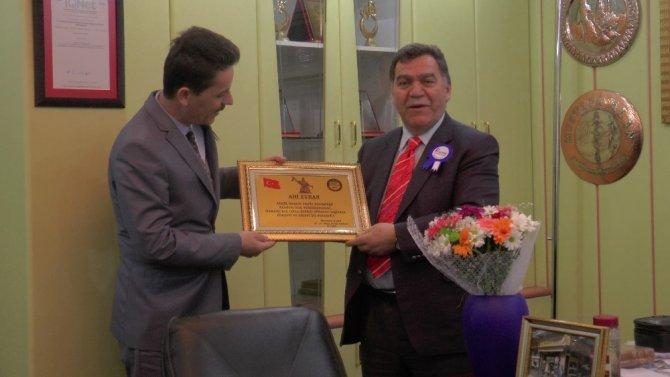 Vergi Dairesinden TESKOMB Başkan Vekili Alan'a ziyaret