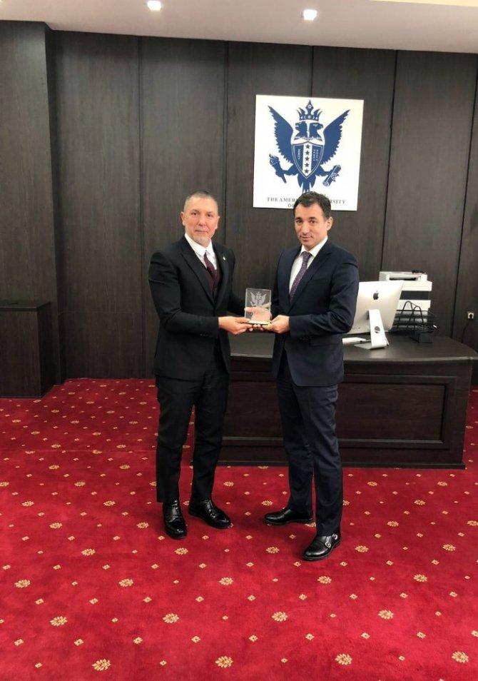 Gagavuzya Cumhurbaşkanı Irına Vlah'a ziyaret