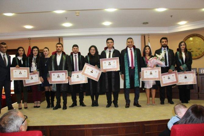 Mersin'de 9 avukat daha yemin ederek göreve başladı