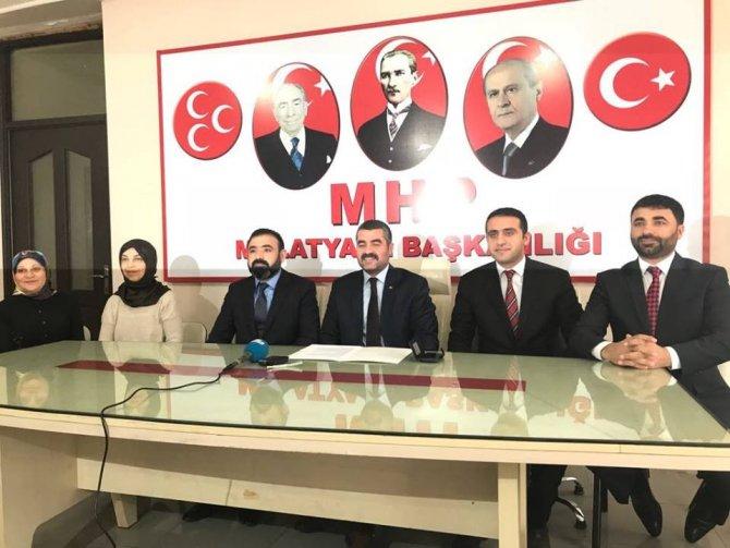 MHP'den Mehmetçiğe destek yürüyüşü
