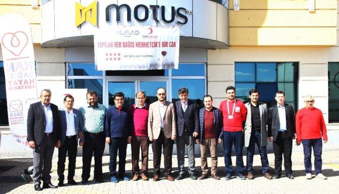 MÜSİAD Konya'dan Afrin'e kan bağışı
