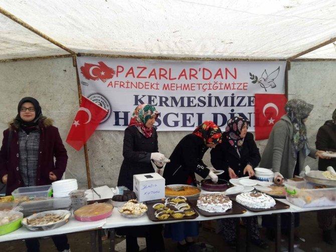 Öğrencilerden Mehmetçik için yardım kermesi