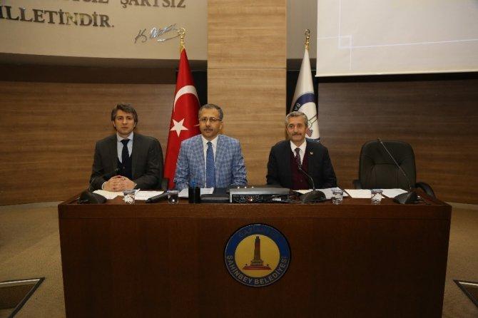 Şahinbey Meclisi Vali Ali Yerlikaya'yı Ağırladı