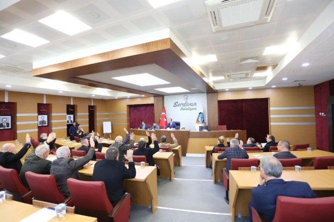 Serdivan Belediyesi Mart ayı meclis toplantısı gerçekleşti