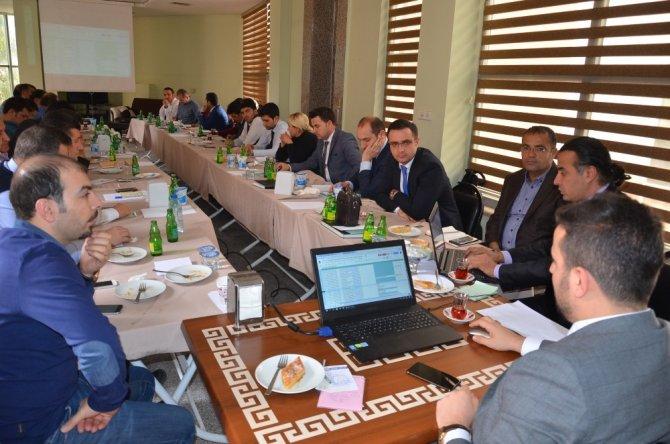 İl Sağlık Müdürlüğü aylık il koordinasyon kurulu toplantısı Cizre'de gerçekleşti