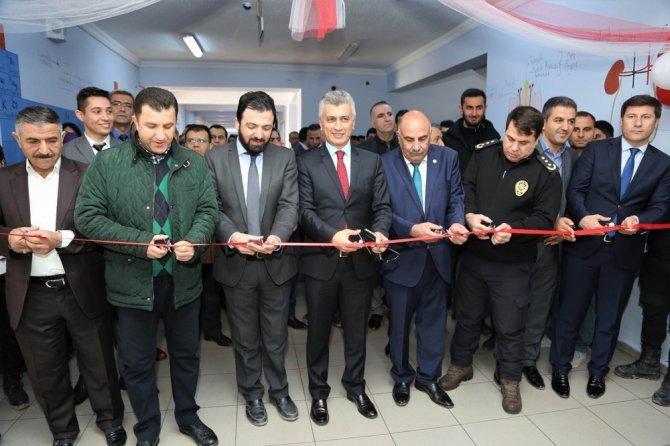 Şehit Polis Salih Hüseyin Parça Kütüphanesi açıldı